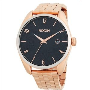 Nixon Bullet Rose Gold Watch 🌹